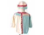 KSS Pastel Colored Long Sleeve Cotton Sweater (3 - 4 Years) KSS-SW-111-EB