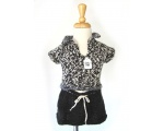 KSS Black/White Sweater Vest and Skirt 2 Years KSS-SW-185-2PC-ET
