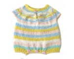 KSS Pastel Colored Striped Onesie 6 Months