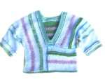 KSS Pastel Colored Cotton V-neck Sweater (2 Years) KSS-SW-221-ET-EB
