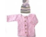 KSS Pink Baby Sweater/Cardigan (12 Months)