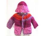 KSS Coat of Many Colors and Hat 12 Months