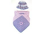 KSS Purple Colored Knitted Sweater and Hat Set (2 Years/3T) KSS-SW-637