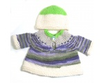KSS Colorful Pullover Sweater with a Hat (6 Months) KSS-SW-641-ET