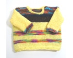 KSS Multi Colored Yellow Striped Soft Pullover Sweater 2T KSS-SW-647
