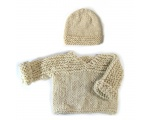 KSS Natural Colored Handmade Sweater (9 Months)
