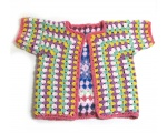 KSS Crocheted Granny Style Sweater Vest (2 Years) KSS-SW-659-AZ