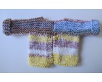 KSS Striped Heavy Multicolored Baby Sweater/Cardigan (6 Months)
