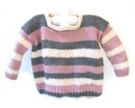 KSS Pink Sky Kids Pullover Sweater (4 Years)