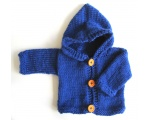 KSS Navy Blue Hooded Sweater/Jacket (6 Months)