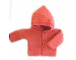KSS Copper Hooded Sweater/Cardigan (3 Months)