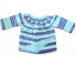 KSS Sea Colored Pullover Sweater (6 Months) KSS-SW-714-AZH