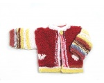 KSS Red/Pink with Hearts Sweater (3 Months)