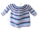 KSS Blue Sky Colored Cotton Pullover Sweater (9 Months) KSS-SW-718-ET