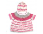 KSS Pastel Soft Light Pullover Sweater with a Hat (12 Months) KSS-SW-721