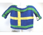 KSS Pullover Sweater with Swedish Flag (18 Months) KSS-SW-729
