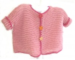 KSS Pink Colored Knitted Sweater 2 Years/3T KSS-SW-739