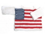 KSS Pullover Sweater with American Flag (12 Months) KSS-SW-747-ET