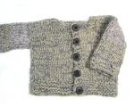 KSS Heavy Grey/Natural Sweater/Jacket 2 Years/2T