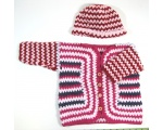KSS Bright Toddler Sweater/Cardigan & Hat (4-5 Years)