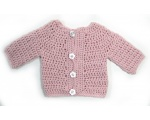 KSS Pink Sweater/Cardigan (3-6 Months)