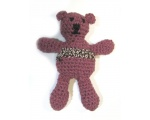"KSS Knitted Cotton Teddy Bear 5.5"" long KSS-TO-063"