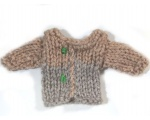 KSS Heavy Doll Sweater for Tiny Doll or Teddybear KSS-TO-064