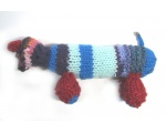 "KSS Knitted Dachshund Dog 8"" KSS-TO-065"
