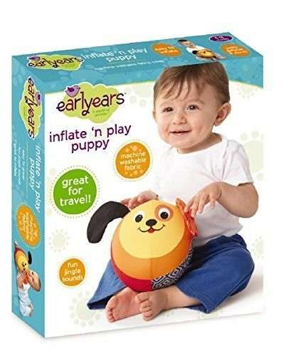 Earlyears Inflate 'n Play Puppy Toy 00389 - Click Image to Close