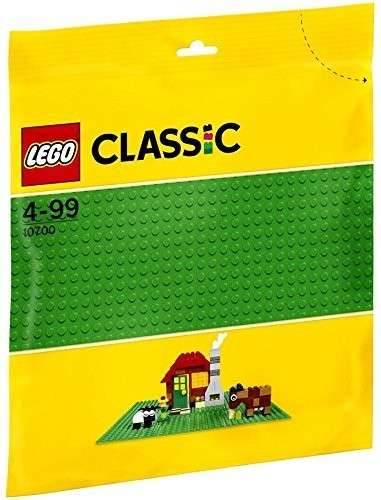 LEGO System Classic Green Baseplate 10 x 10 inch 10700