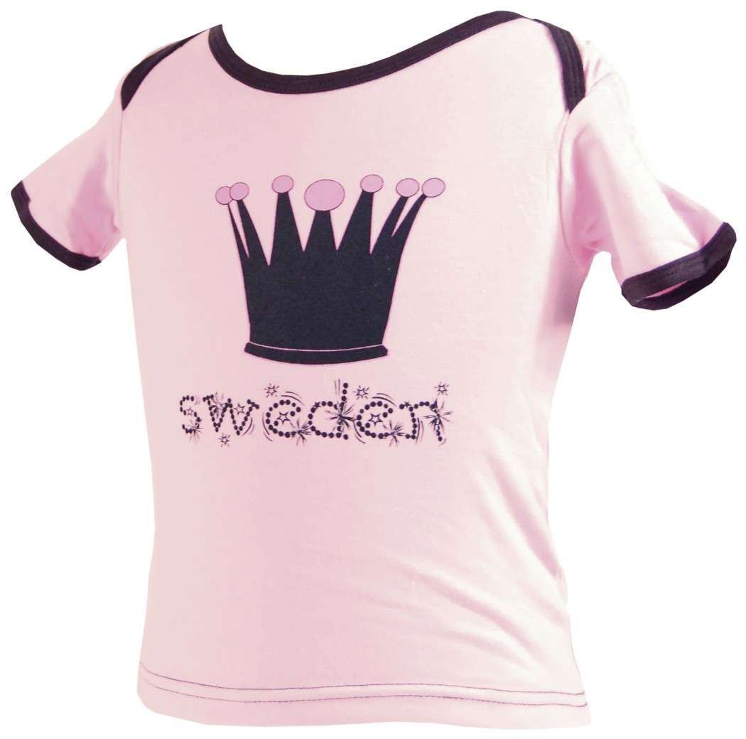 Ola Nesje T-shirt Little Princess 2 Years 90524 - Click Image to Close