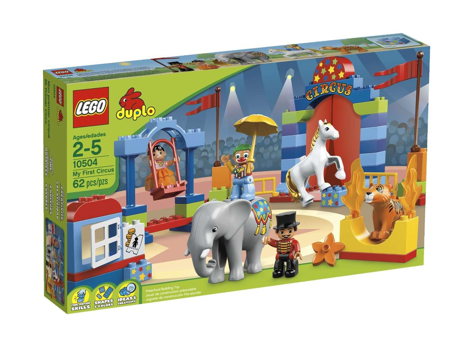 LEGO DUPLO My First Circus 10504 (Dented Box)