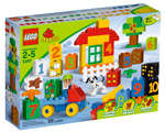 LEGO® DUPLO® Learning Play with Numbers (dented box)