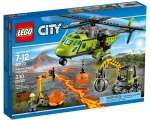LEGO City Volcano Supply Helicopter Set 60123
