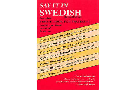 Say It in Swedish by Dover