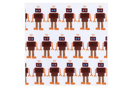 Blafre Greeting Card Robots