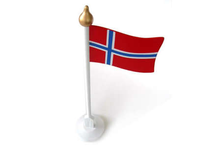 Norweigan Wooden Flag