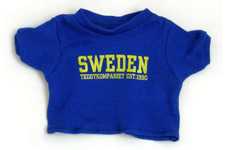 Teddykompaniet Teddy Bear T-Shirt Sweden Small