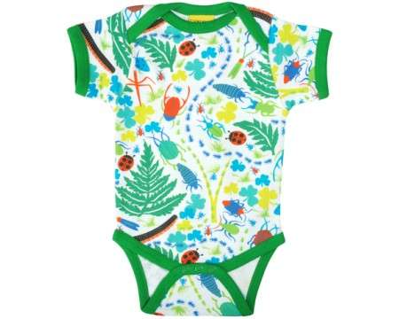 DUNS Organic Cotton Bugs Short Sleeve Onesie (0 - 18M)