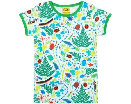DUNS Organic Cotton Bugs Short Sleeve Top (6 - 24 Months)