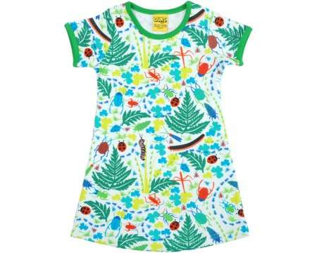 DUNS Organic Cotton Bugs Short Sleeve Dress (1 - 5 Years)