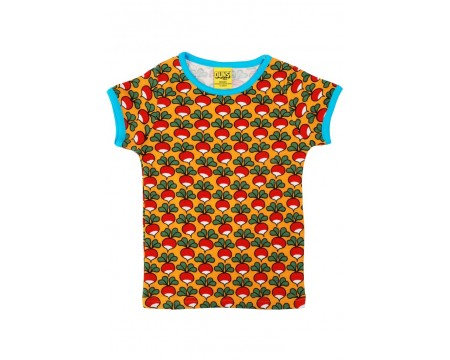 DUNS Organic Cotton RADISHES Short Sleeve Top (9-12 Months)