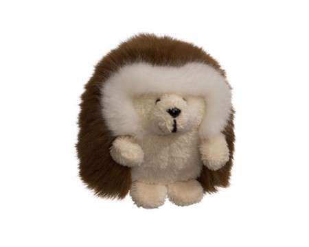 "GUND Ganley the Hedgehog 3"" Medium Brown"