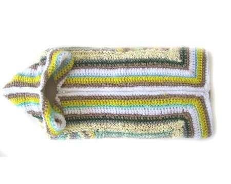 KSS Multi Colored Baby Bag with Zipper