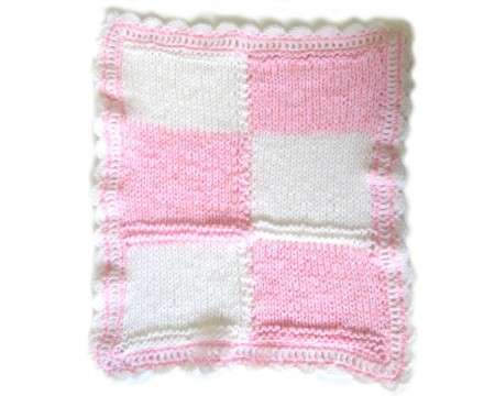 "KSS Pink Baby Blanket 20""x25\"" Newborn and up"