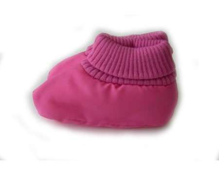 Pink/Cerise Baby Winter Booties 0 - 9 Months