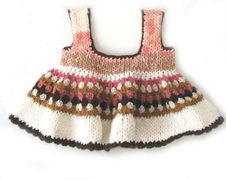 KSS Cotton Knitted/Crocheted Dress 6 Months