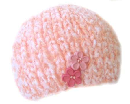 KSS Pink Cotton Candy Beanie 17 - 30 inch (4 Years and up)