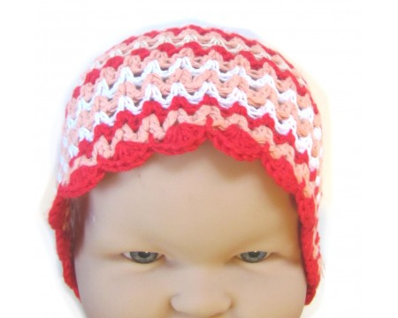 "KSS Coloful Striped Hat 14 - 15"" (6 Months)"
