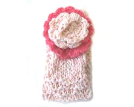 "KSS Light Pink Cotton Knitted Headband 15-17"" (1-2 Years)"